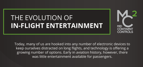 The Evolution of In-Flight Entertainment [INFOGRAPHIC]