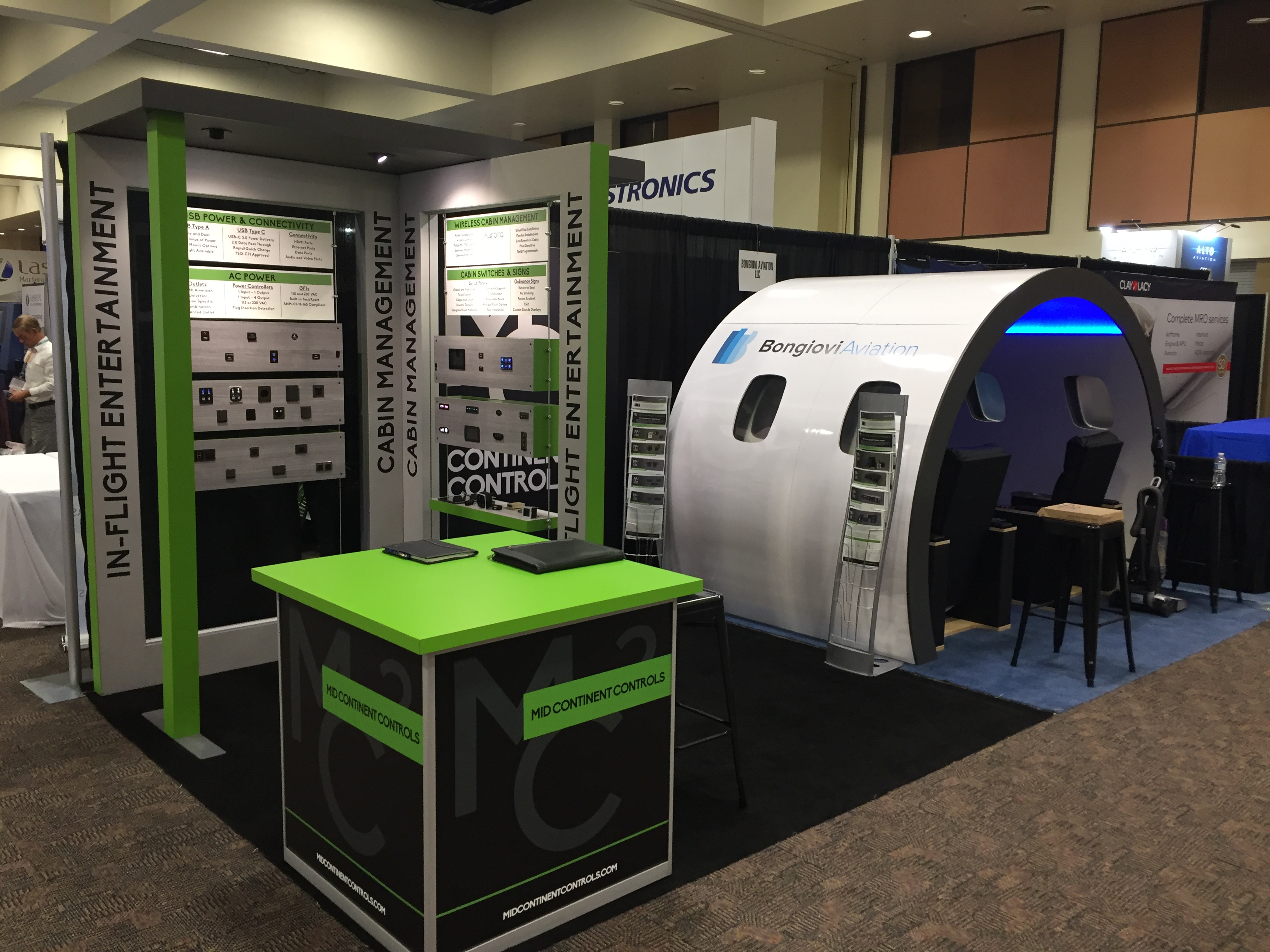 Mid Continent Controls Wows at AEA 2019