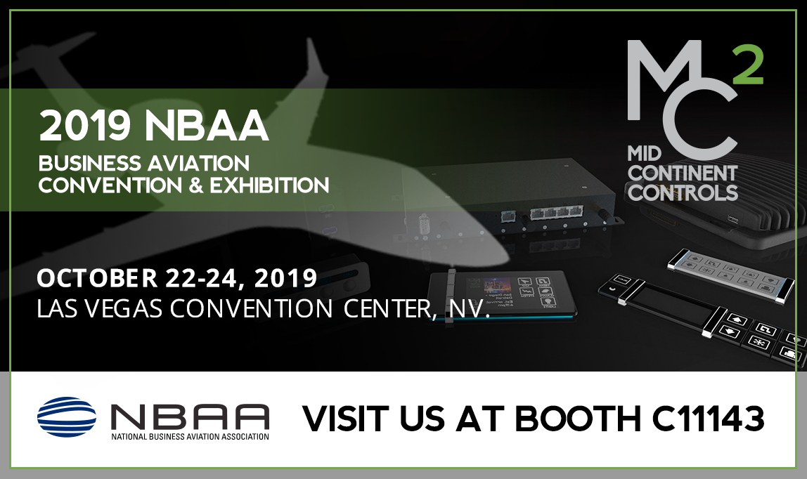 Mid Continent Controls to Attend NBAA-BACE 2019